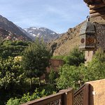 View of Mount Toubkal from our terrace.