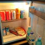Wyposażenie lodówki (toblerone i 7days własne)