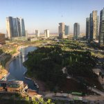 I took this picture of Songdo Park as I looked out my hotel room.