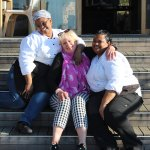 Loving & laughing with these great ladies from the kitchen