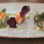 Trio of fish- lovely entree