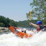 Guided kayaking on the Shenandoah River