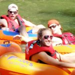 Tubing fun with Friends