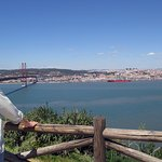 the author taking a look back - he left his heart in Lisbon city