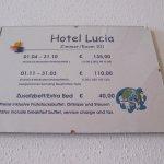 Hotel Lucia Aufnahme
