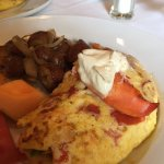 Lobster Omelet - Scrumptious and full of lobester!