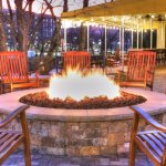 Fire Pit Area, Rocking Chairs, Relax enjoy the nature at its best .  Over the river and mountain