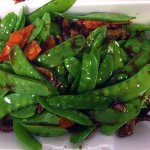 Beef with Snow Pea Pods