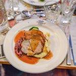 Pork as the main course