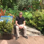 Inside the Boettcher Memorial Tropical Conservatory