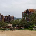 Hotel Aulani next door...