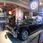 The JFK limousine in 1963 assasination