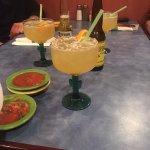 Birthday drinks on Taco Tuesday. YUM