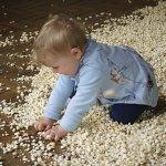 Popcorn everywhere