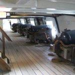 gun deck of Constellation