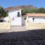 Vista de la Hacienda desde la Iglesia de Molinos.