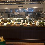 Very nice Japanese and western breakfast buffet