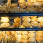 House made pies, pasties and sausage rolls