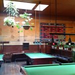 Pool tables and snooker too