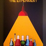 "This is the poster from ""The Experiment"" room. A great room for escape enthusiasts."