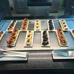 Beautiful food at the El Dorado Royale
