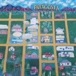 Mural in Patagonia