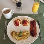 Gourmet Breakfast Served at the Inn at the Park
