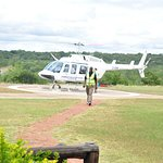 Helicopter ride at Vic falls.