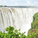 Vic Falls from Zimbabwe park