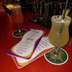 Delicious drinks at the bar!