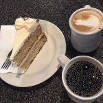 Excellent coffee and cake!