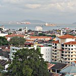 View from Merchant Hotel (Penang, Malaysia)