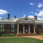 Front entryway of Monticello