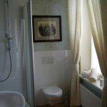 Bathroom in room No 2 (Altes Handelshaus, Plauen)