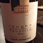 A wonderful private import wine