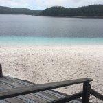 Lake Mackenzie looking gorgeous.