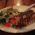 Blackened Grouper Dinner - Delicious!