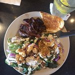 Grilled Romain Steak Salad- Excellent! Filling without feeling heavy. So many wonderful choices