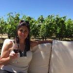 Reserve Wine tasting in lovely garden setting