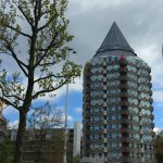 Rotterdam was an awesome city. We walked around the city, went to the market, took a boat tour,
