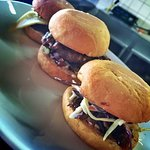 Different variations of food at the Mallee Grill