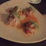 hokkaido scallops, fennel, malay pico de gallo