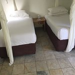 Luxury? Two tiny single beds?