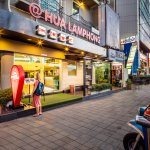 @Hua Lamphong Hostel is opposite to Hua Lamphong Railway station and next to MRT subway station.
