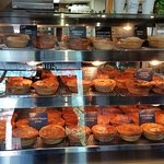Great selection of very good pies