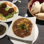 Foul and falafel