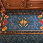 Royal Room - Disney Decor on the Rug - the flying rug from Aladdin