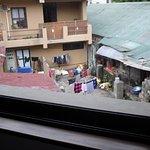 scenic beauty of Pokhara from Trek O tel hotel room