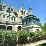 Mansion and solarium