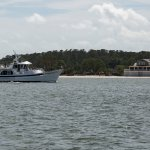 The Vagabond II near Daufuskie Island.